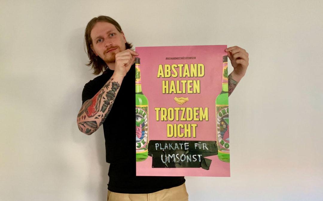 Plakate jetzt für lau